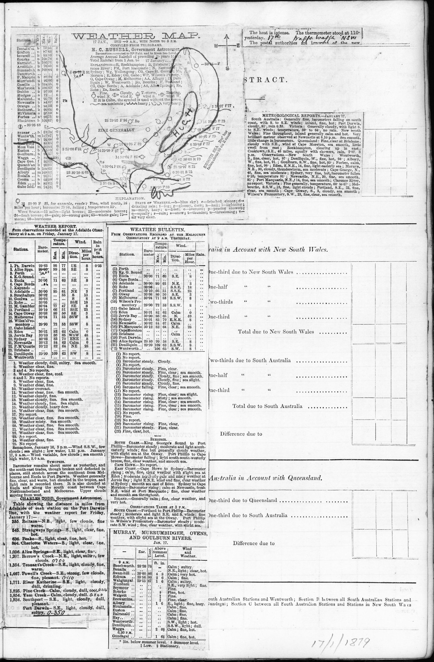 18790117t01 Weather map